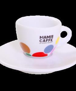 Белая чашка для эспрессо 180 мл от Mami's