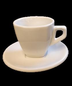 Белая чашка для капучино от Nuova Point