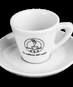Белая чашка для эспрессо 60 мл Espresso Perfetto