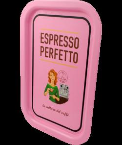 Поднос Espresso Perfetto Pink