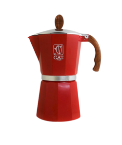 Гейзерная кофеварка G.A.T. (на 48 чашек) Red