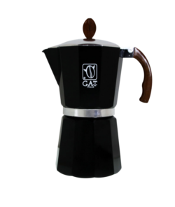 Гейзерная кофеварка G.A.T. (на 48 чашек) Black