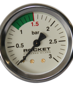 Манометр Rocket R58 3 бар, белый