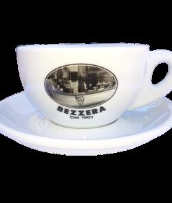 Белая чашка гранд 220 мл. для капучино Bezzera