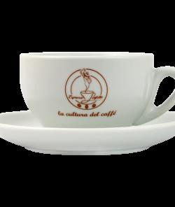 Чашка для латте с блюдцем от Espresso Perfetto