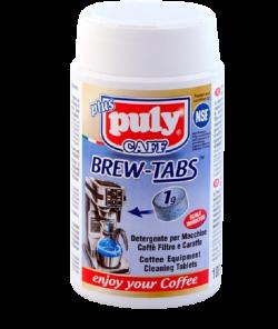 ЧИСТЯЩЕЕ СРЕДСТВО PULY CAFF BREW-TABS, БАНКА 100 ТАБ. X 1 Г