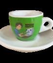 Зеленая чашка для эспрессо Espresso Perfetto, New